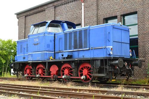 Diesellok V 2.004  in Extertal