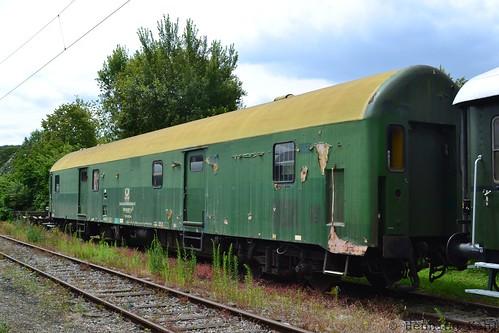 ex DR-Bahnpostwagen  in Extertal
