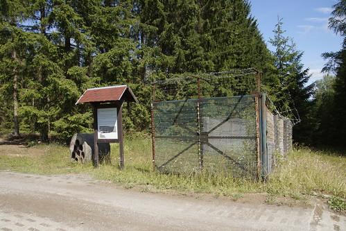 Oude grensgebied voormalige DDR in Sorge 10-07-2019