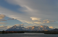Chile - Torres del Paine - view from hotel