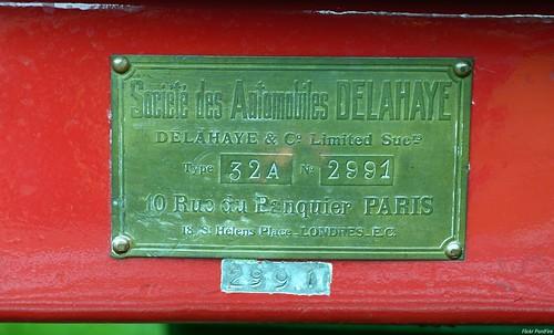 1912 Delahaye Double phaéton type 32A