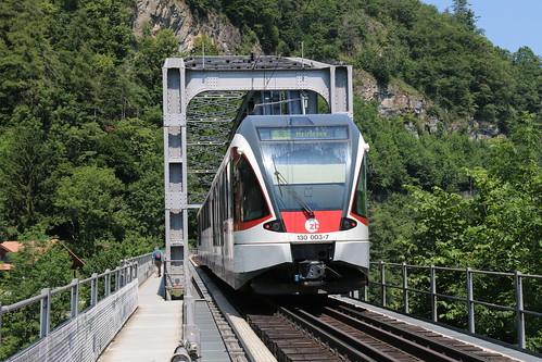 2019-06-30, ZB, Interlaken Ost, Aarebrücke