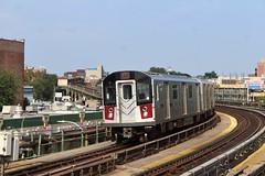 MTA Kawasaki R188 (7) train
