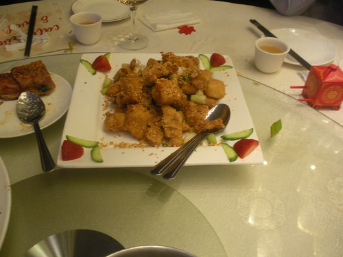 deep-fried sea bass from Longo Seafood Restaurant