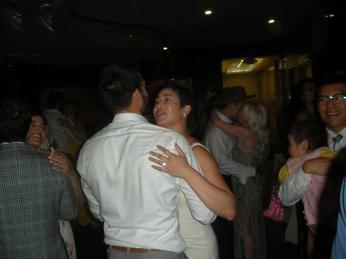couples sharing a slow dance [2]