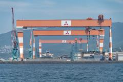 Mitsubishi naval shipyard
