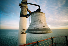 Bell at the end of Southend Pier