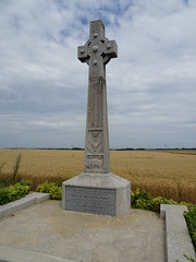 Seaforth Highlanders Memorial at Sunken Road - Fampoux  (1)