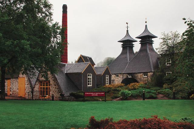 Scotland - Speyside - Strathisla Distillerie