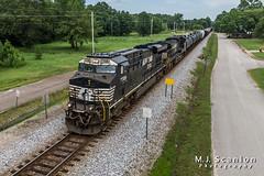 NS 7708 | GE ES44DC | NS Memphis District West End