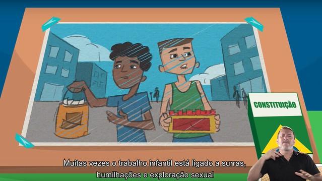 Cerca de 2,7 milhões de crianças e adolescentes entre cinco e 17 anos trabalham atualmente no Brasil - Créditos: Foto: Reprodução / MPT