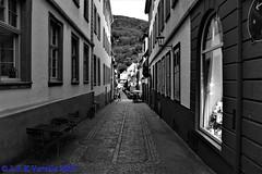 Heidelberg em preto-e-branco
