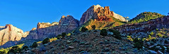 Zion National Park Sunrise, Altar of Sacrifice, UT 2014