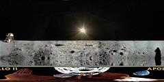 Apollo 11 Enhanced HD Panorama
