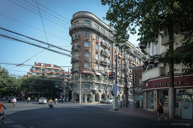 上海武康路诺曼底公寓 Normandy Apartments in Shanghai