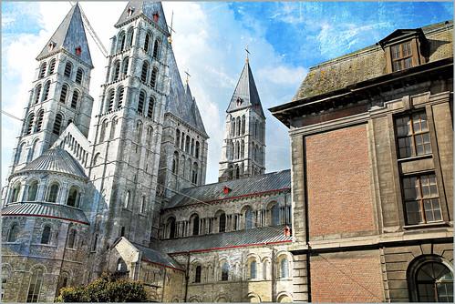 Cathédrale Notre-Dame de Tournai, Province du Hainaut, Belgium