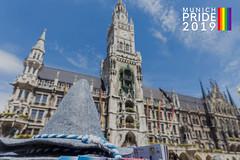 Die Stadt München zeigt sich solidarisch mit der CSD Community und feiert gemeinsam Munich Pride 2019
