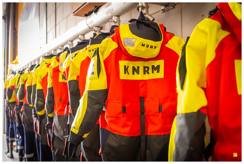 KNRM - drysuits of the voluntary lifeboatcrew of the KNRM Andijk