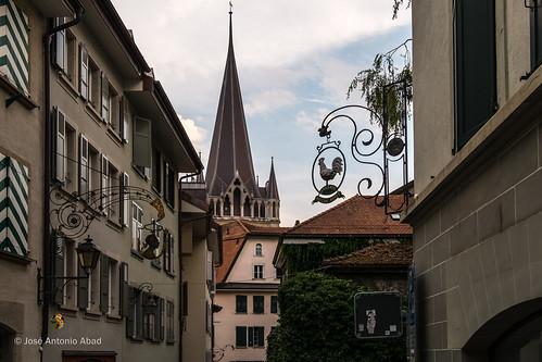Rue Cité Derrière. Lausanne