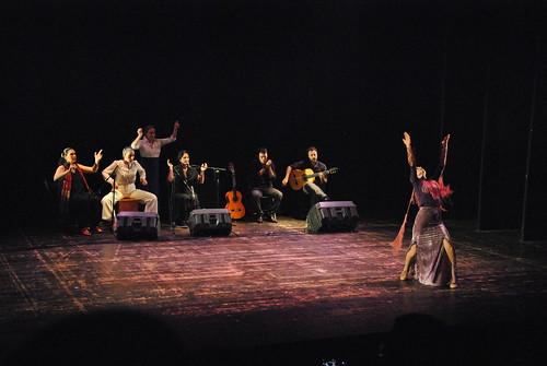 baile de flamenco