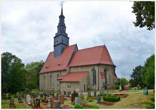 Kirche zu Taubenheim bei Meißen