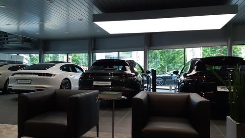 Beleef Porsche, nog in de wachtkamer..