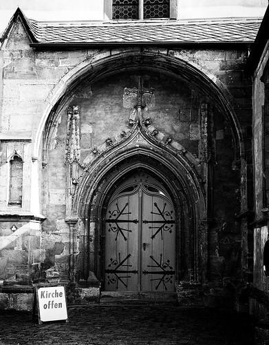Römhild Kirche Portal