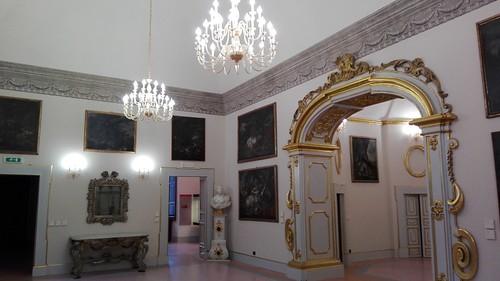 Melfi (Pz). Interno Castello. Novembre 2018.