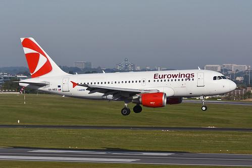 OK-NEO Airbus A319-112 EBBR 14-05-19