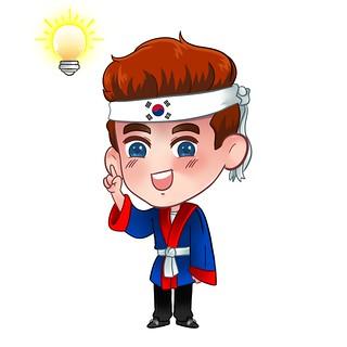 Chibi RyuKoch Matthias Südkorea Lampe Idee