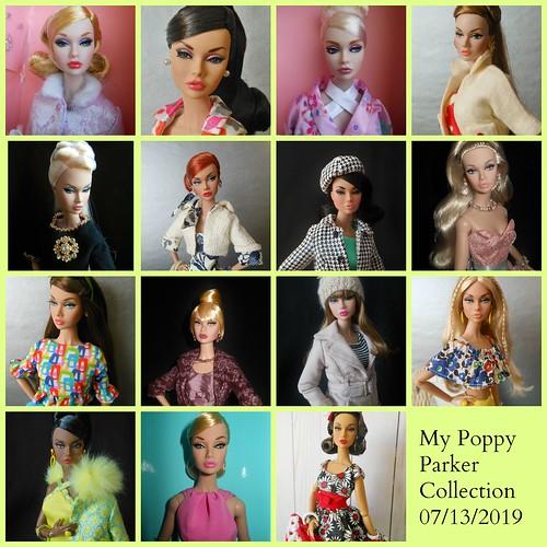 Inspired by LesPoupéesD'Olivia, My Poppy Parker Collection