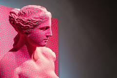 Yayoi Kusama, Statue of Venus obliterated by infinity nets (1988)