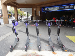 Scooters at the Station