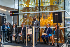 Sea-Tac North Satellite Modernization Project Phase 1 Grand Opening Press Conference