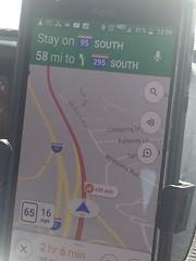 Traffic on I-95