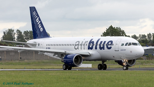APBNU A320 Air Blue