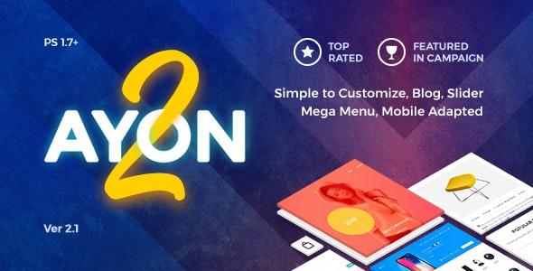 AYON  v2.0 - Multipurpose Responsive Prestashop Theme