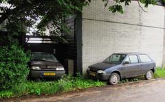 1992 Citroën AX 11 TGE & 1996 Citroën AX 1.1i First