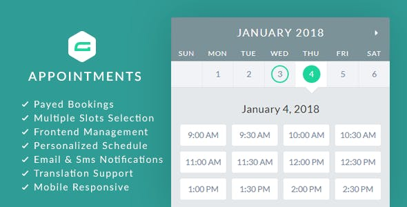 gAppointments v1.9.1 - Appointment booking addon for Gravity Forms