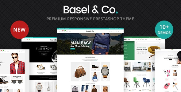 Basel - Multipurpose Prestashop 1.7 eCommerce Theme