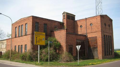 1922 Burg Umspannwerk für Mittelspannung von Hans Holthey/Martin L52 Tieferwisch/Niegripper Chaussee 8-9 in 39288