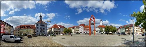 Marktplatz zu Bischofswerda