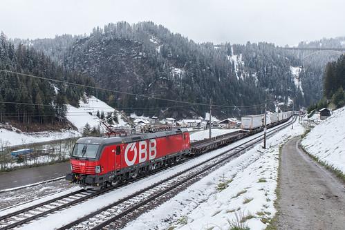 ÖBB 1293 040 St. Jodok am Brenner