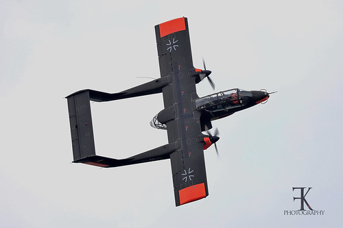 Rockwell OV-10B Bronco Ex-GAF 99+18 at Oostwold Airschow Jun/10th/2019