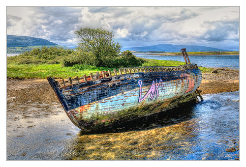 Sligo IR - Shipwreck at Rosses Point 01