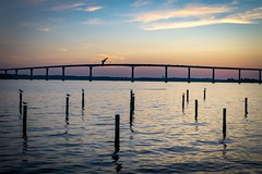 Solomons Sunset over the Patuxent River