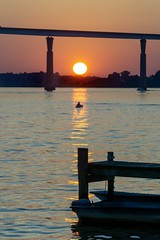 Kayak Sunset on the Patuxent