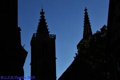 Rothenburg ob der Tauber - silhuetas