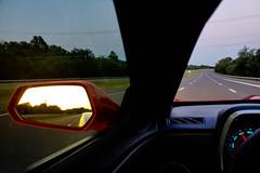 Headed Back to Arlington at Sundown