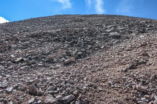 The Climb to Red Peak